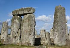 Stonehenge closeup Royalty Free Stock Images