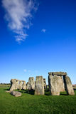 Stonehenge with Clouds Stock Photos