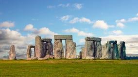 Stonehenge con lapso de tiempo de la nube N4 metrajes