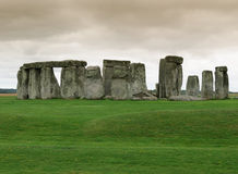 Stonehenge in Cornwall. Archaeological site of Stonehenge in Cornwall Royalty Free Stock Image