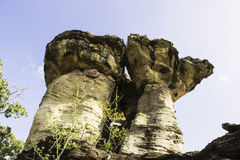Stonehenge d'Ubon, Thaïlande Photographie stock libre de droits