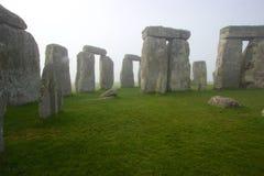 Stonehenge dans le début de la matinée Image stock