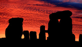 Stonehenge Dawn Royalty Free Stock Images