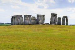 Stonehenge. Daylight in Stonehenge. Historic stones of England stock image
