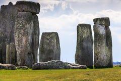 Stonehenge. Daylight in Stonehenge. Historic stones of England stock photography