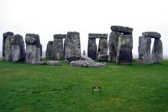 Stonehenge, de geheimzinnigheid van de Wereld Stock Foto's