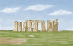 stonehenge de l'Angleterre Photos stock