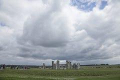 Stonehenge de uma distância Foto de Stock Royalty Free