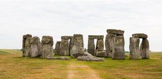Stonehenge, de Vlaktes van Salisbury, Centraal Engeland Stock Afbeelding