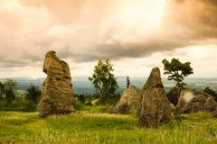 Stonehenge della Tailandia Immagine Stock Libera da Diritti