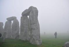 Stonehenge an der Dämmerung, Stockbild