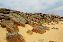 Stonehenge di Melitopol Fotografia Stock
