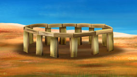 Stonehenge 01 Stock Photos