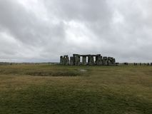 Stonehenge. At a distance stock photo