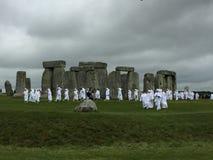 Stonehenge. With druids stock photos