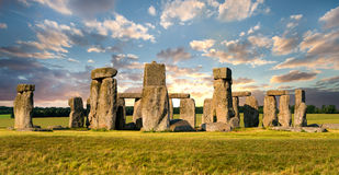 Stonehenge at Dusk Royalty Free Stock Image