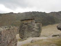Stonehenge en el monte Elbrus Foto de archivo