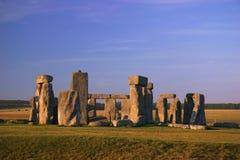 Stonehenge - Engeland (7400) Stock Afbeeldingen