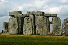Stonehenge in Engeland Cornwall Royalty-vrije Stock Foto