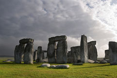 Stonehenge, Engeland, het UK Stock Afbeelding