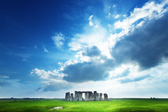 Stonehenge, Engeland het UK Stock Foto