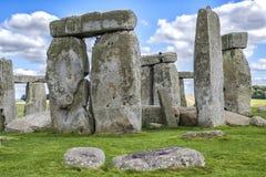 Stonehenge Engeland het Verenigd Koninkrijk Royalty-vrije Stock Afbeelding