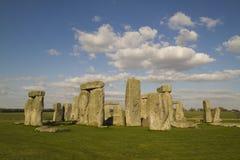 Stonehenge, England. Ancient Stonehenge in Wiltshire, England Stock Photo