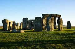 Monument Stonehenge in England royalty free stock photo