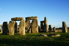 Monument Stonehenge in England royalty free stock photos