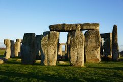 Monument Stonehenge in England stock photos