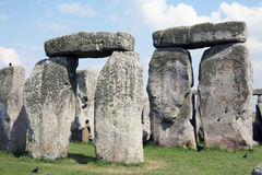 Stonehenge England. A group of stones at Stonehenge England Stock Images