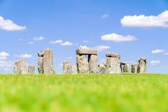 Stonehenge England. Landscape of Stonehenge England United Kingdom, UNESCO World heritage Site royalty free stock image