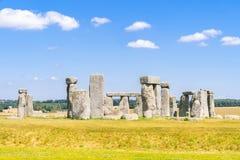 Stonehenge England. Landscape of Stonehenge England United Kingdom, UNESCO World heritage Site royalty free stock photo