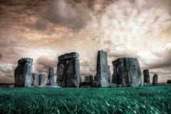 Stonehenge, England. Stonehenge is a prehistoric monument in Wiltshire, England, 2 miles west of Amesbury and 8 miles north of Salisbury stock photos