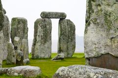 Stonehenge - England. Stonehenge Rock Ruins in England stock photo