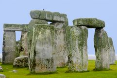 Stonehenge - England. Stonehenge Rock Ruins in England royalty free stock photos