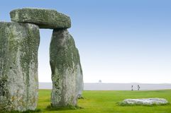 Stonehenge - England. Stonehenge Rock Ruins in England stock photos