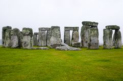 Stonehenge - England. Stonehenge Rock Ruins in England stock photography