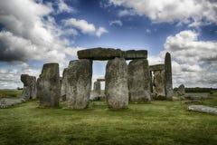 Stonehenge. England-Very serene, prehistoric monuments royalty free stock photo