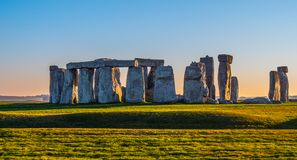 Stonehenge is a famous landmark in England royalty free stock photography