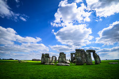 Stonehenge. A famous landmark of UK royalty free stock photos