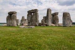 Stonehenge. A famous site near Salisbury, England, UK stock photography