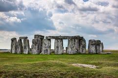 Stonehenge. A famous site near Salisbury, England, UK stock images