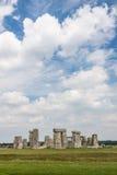 Stonehenge. A famous site near Salisbury, England, UK stock image