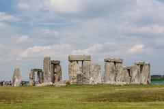 Stonehenge. A famous site near Salisbury, England, UK royalty free stock photo