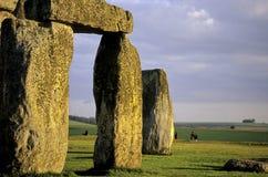 Stonehenge- het Verenigd Koninkrijk Stock Foto's