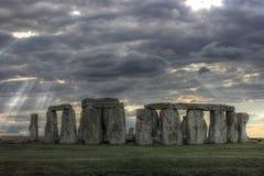 Stonehenge, het Verenigd Koninkrijk, Engeland Royalty-vrije Stock Afbeeldingen