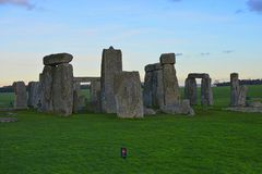 Stonehenge. Historic England Royalty Free Stock Photography