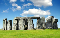 Stonehenge. Historical monument Stonehenge,England, UK Royalty Free Stock Photos
