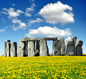 Stonehenge. Historical monument Stonehenge,England, UK Stock Photos